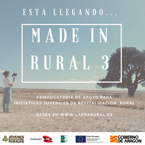 "Publicadas las bases del III ""MADE IN RURAL"""