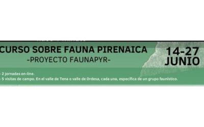 Curso sobre fauna pirenaica en el marco de POCTEFA Faunapyr