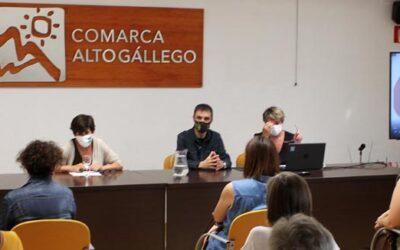 La Comarca Alto Gállego acoge la presentación pública de la rehabilitación y ampliación realizada en la Senda de Izarbe
